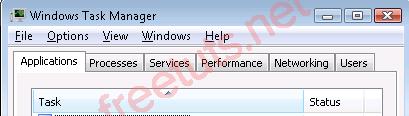 Windows task manager 9 PNG