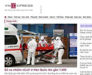 Top 10 trang báo mạng lớn nhất tại Việt Nam  2020