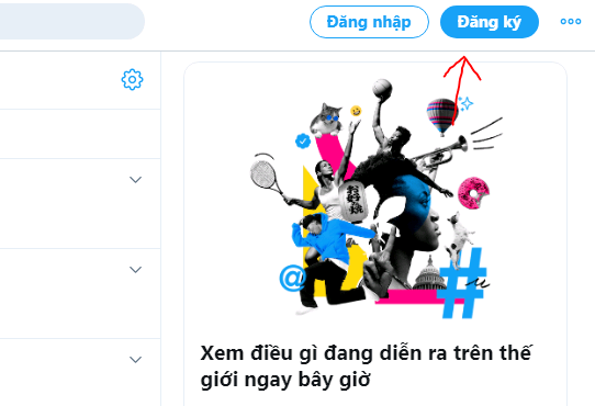 dang ky twitter PNG