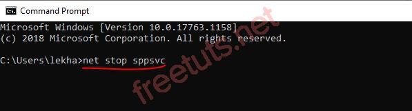004 net stop sppsvc command prompt JPG