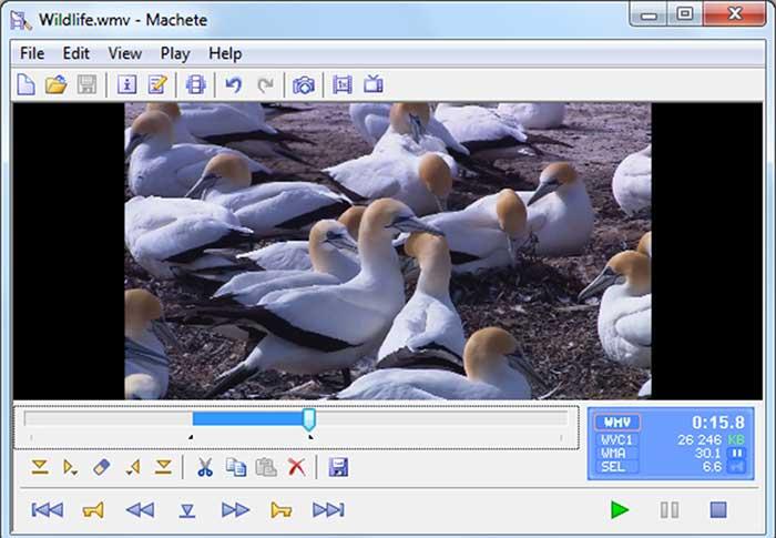 Machete Video Editor jpg