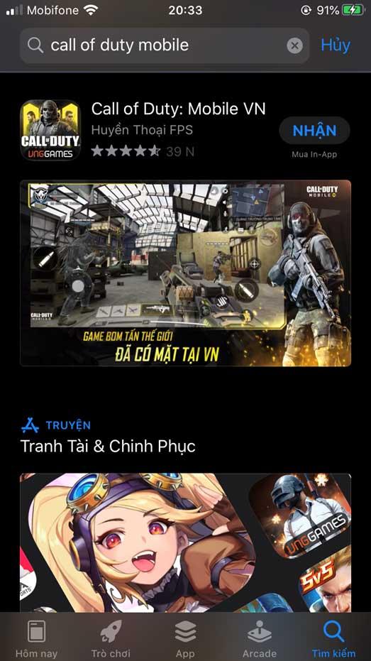 cach tai call of duty mobile ios jpg