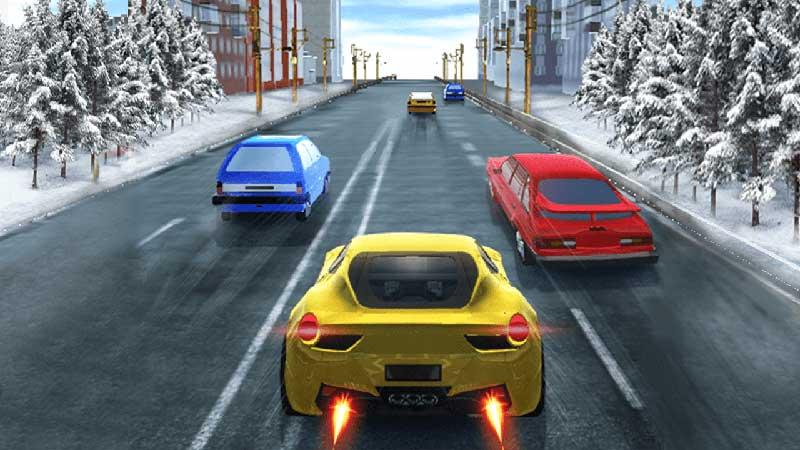 Trải nghiệm game offline đua xe với dòng xe hạng sang - Highway Racer
