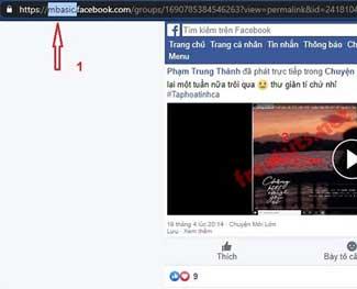 Cách tải Video nhóm kín Facebook về máy tính