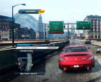 Tải game đua xe Need For Speed Most Wanted Full portable PC 2012