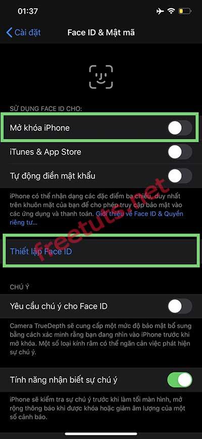 cai xoa face id iphone x 11 3 jpg
