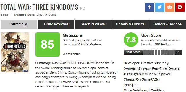 total war three kingdoms metacritic jpg