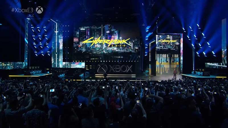 Cyberpunk2077 KeanuReevesat E3 2019 2 jpg