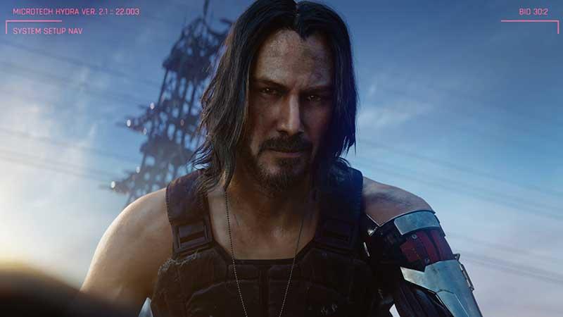 Cyberpunk2077 KeanuReevesat E3 2019 3 jpg