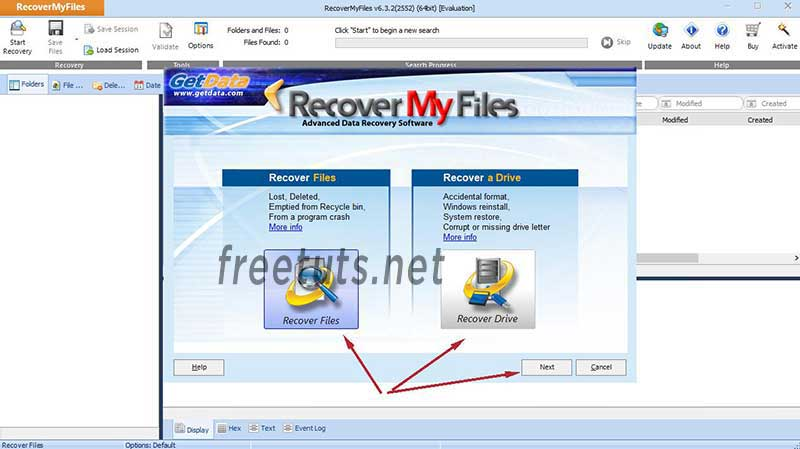 recovery my files using 1 jpg
