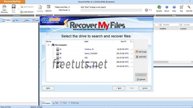recovery my files using 2 jpg
