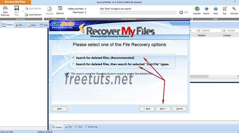 recovery my files using 3 jpg