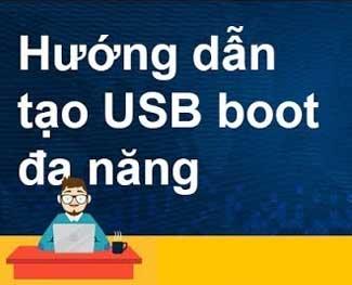 Tạo USB Boot với 1 Click MultiBoot v5.0, Boot được cả 2 chuẩn UEFI và Legacy