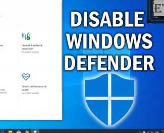Hướng dẫn bật / tắt Windows Defender trên Windows 10