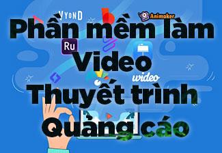 11+ phần mềm tạo video thuyết trình, video quảng cáo tốt nhất