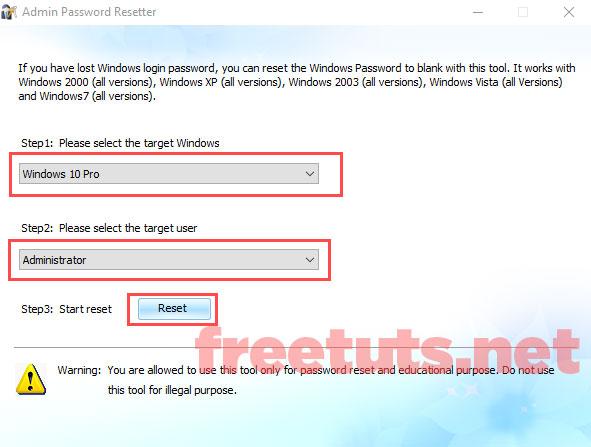 pha mat khau windows xp 7 10 admin password resetter 1 jpg