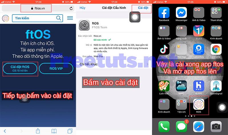 jailbreak iphon ipad khong can may tinh 1 jpg