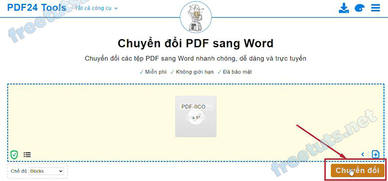 chuyen pdf sang word toolspdf24 2 jpg
