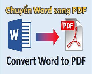 Cách chuyển file Word sang PDF bằng công cụ online và phần mềm miễn phí