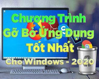 Top 12 phần mềm gỡ cài đặt tốt nhất cho Windows