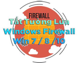 Tường lửa là gì? Cách tắt tường lửa trên Windows 7-8-10