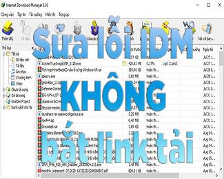 Sửa lỗi IDM không bắt link tải trên trình duyệt Chrome / Firefox