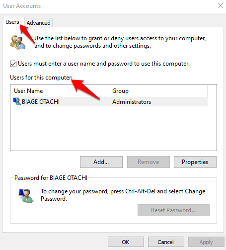 16 you need permission perform this action error users this computer png