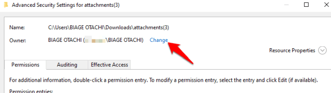 26 1you need permission perform this action error full control permissions change png