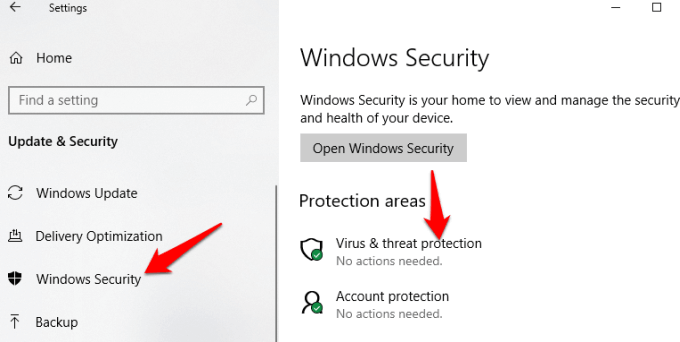 6 you need permission perform this action error malware scan windows security virus threat protection png