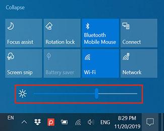 7 Cách điều chỉnh độ sáng trong Windows 10