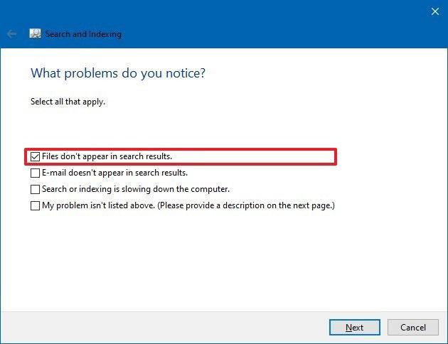 11 problem file dont appear search windows 10 jpg