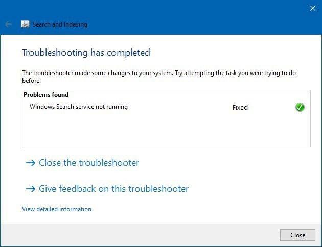 12 windows 10 search problem fixed jpg