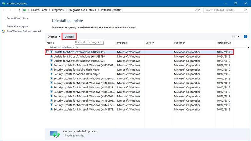 25 uninstall windows 10 update fix search jpg