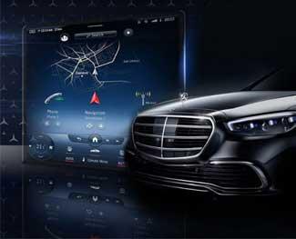 Hướng dẫn sử dụng Mercedes MBUX thế hệ mới
