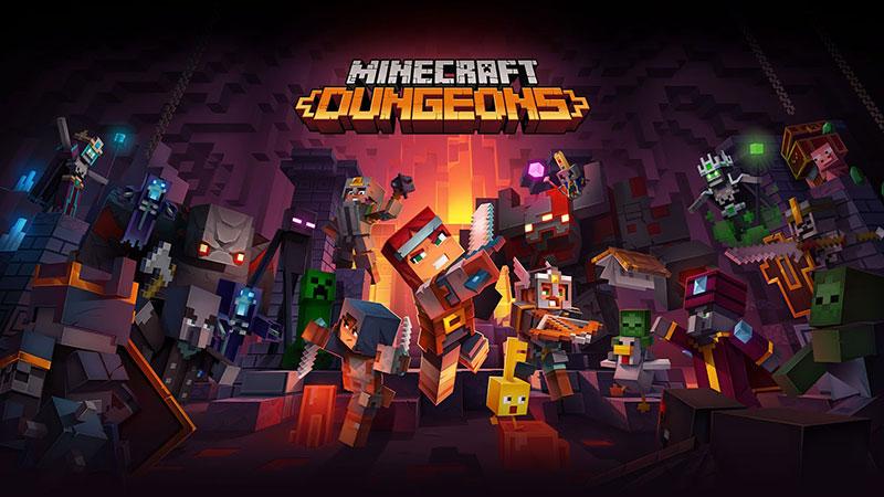 Minecraft Dungeons Cover jpg