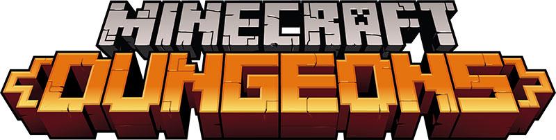 Minecraft Dungeons Logo jpg