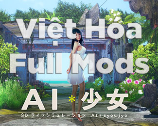 Tải game AI Shoujo / AI Girl R6.1 Việt Hóa Full Mods [English-Uncen]