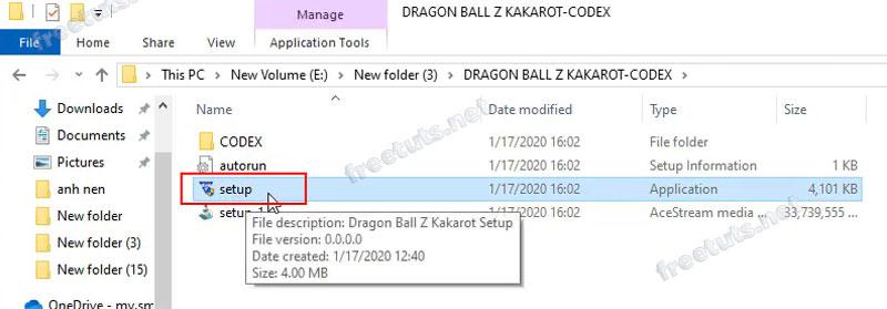 dragon ball z kakarot setup 1 jpg