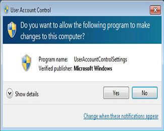 UAC là gì ? Cách bật / tắt UAC trên Windows 10, 8, 7