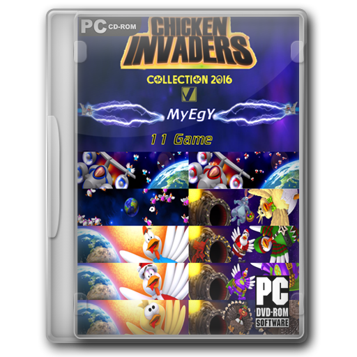 chicken invaders 1 2 3 4 5 2014 png