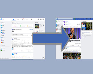 Chuyển Facebook về giao diện cũ với tiện ích mở rộng