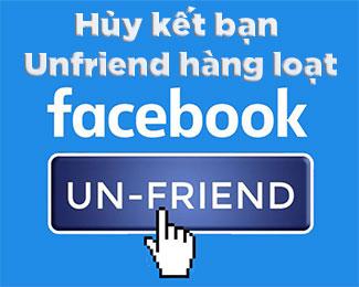 Cách hủy kết bạn hàng loạt trên Facebook với tiện ích mở rộng