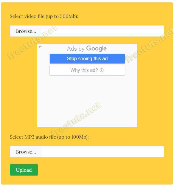 website ghep nhac vao video online 5 jpg