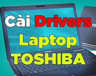 Hướng dẫn cài driver cho laptop Toshiba (tải từ trang chủ)