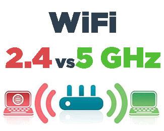 Wifi băng tần kép là gì? Sự khác biệt giữa Wi-Fi 2.4GHz và 5GHz