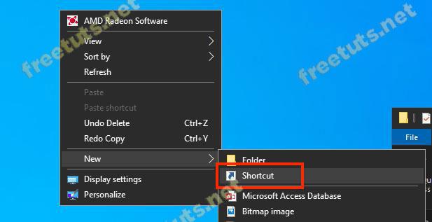 cach tao shortcut trong windows 4 jpg
