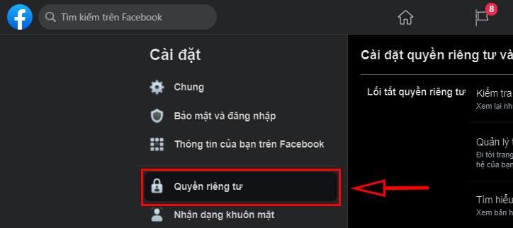 cach an trang facebook ca nhan cua ban khoi cac cong cu tim kiem moi nhat 3 jpg