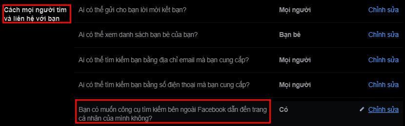 cach an trang facebook ca nhan cua ban khoi cac cong cu tim kiem moi nhat 4 jpg