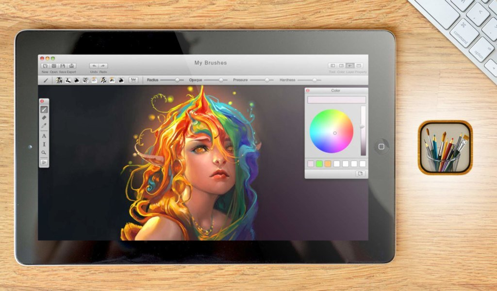MyBrushes Paint for Mac jpg