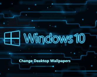 Cách đổi hình nền background máy tính trên Windows 7/10